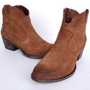 Sundance Oriana Studded Boots